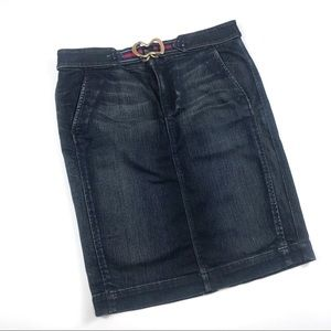 7 For All Mankind Denim Skirt Size 29